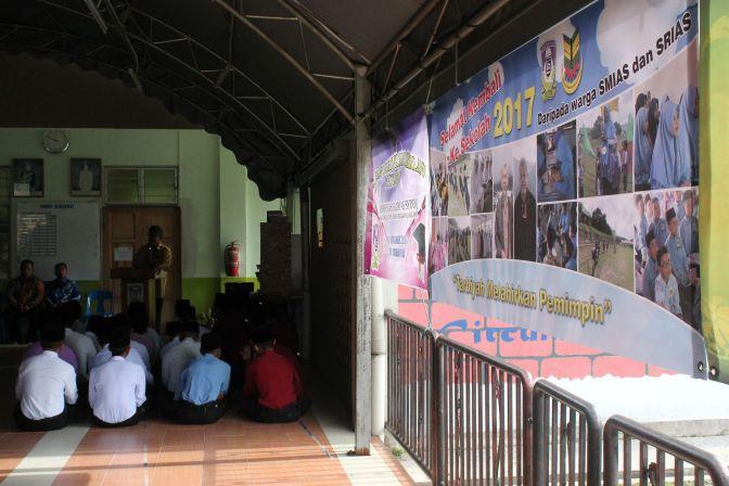 Suasana Hari Pertama Persekolahan Di As Syddiq 2017