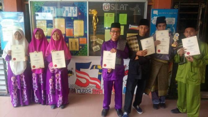 Karnival Pendidikan Islam (MTQ) Peringkat Daerah Antara Sekolah Menengah Daerah Kluang tahun 2017.