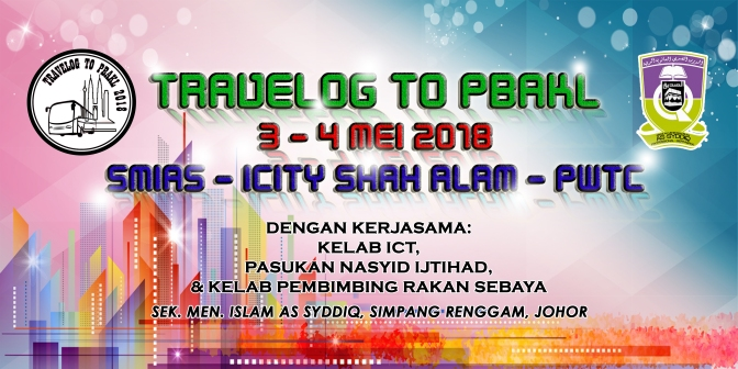 Travelog To PBAKL 2018